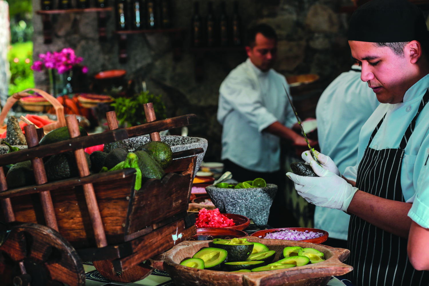 Rosewood San Miguel de Allende offers a customizable cooking workshop.