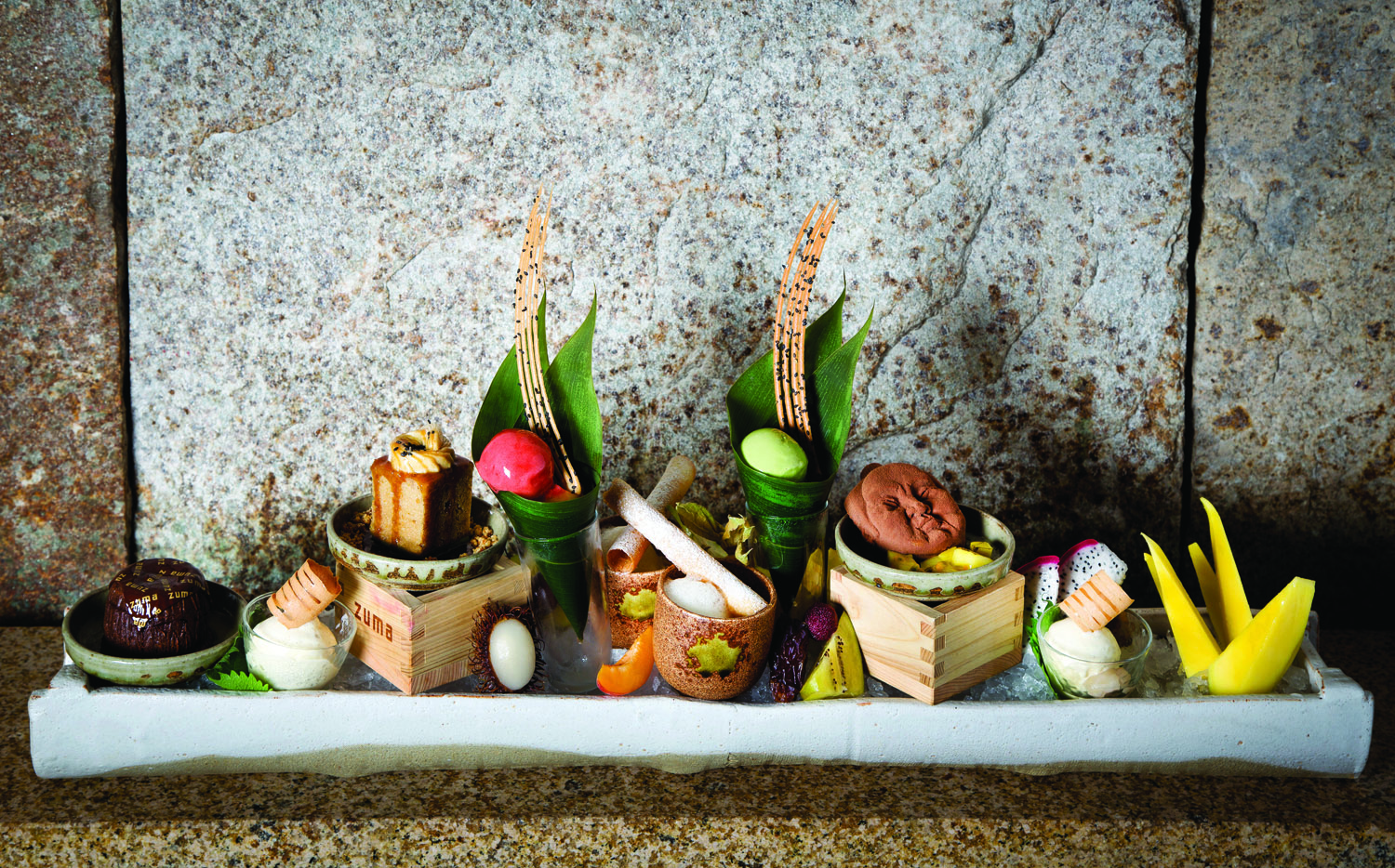 A dessert feast at Zuma, a new eatery at The Cosmopolitan of Las Vegas.