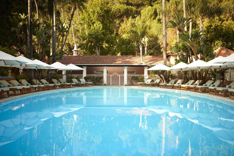 Hotel Be-lAir Pool.