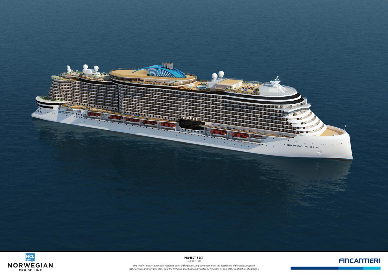 Norwegian Cruise Line Announces Next Generation Of Ships