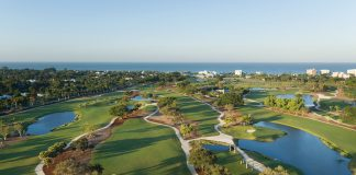The Naples Beach Hotel & Golf Club recently completed a$9 million redesign of the resort's 71-par course.