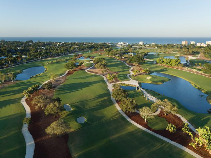 The Naples Beach Hotel & Golf Club recently completed a $9 million redesign of the resort's 71-par course.