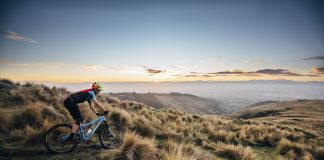 The Port Hills region near Christchurch is a mountain biking paradise. (Photo Credit: Jay French)