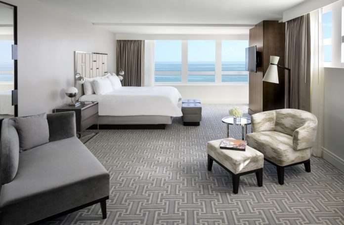 The glamorous Fontainebleau Miami Beach has made updates to itsVersailles Tower suites.