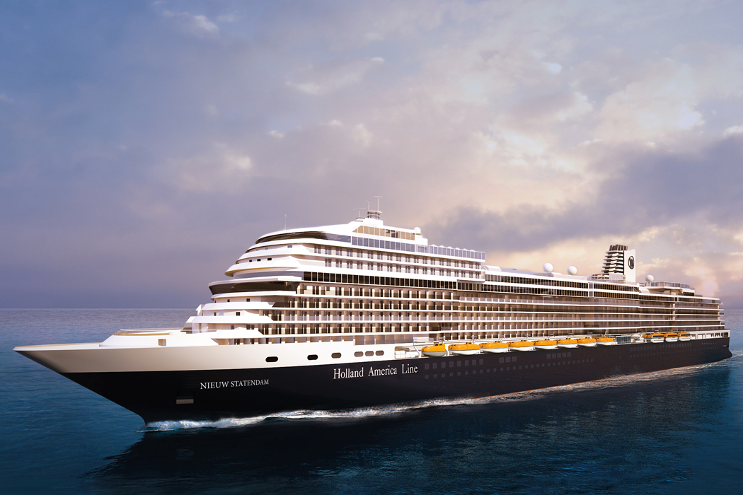 A rendering of the ms Nieuw Statendam.