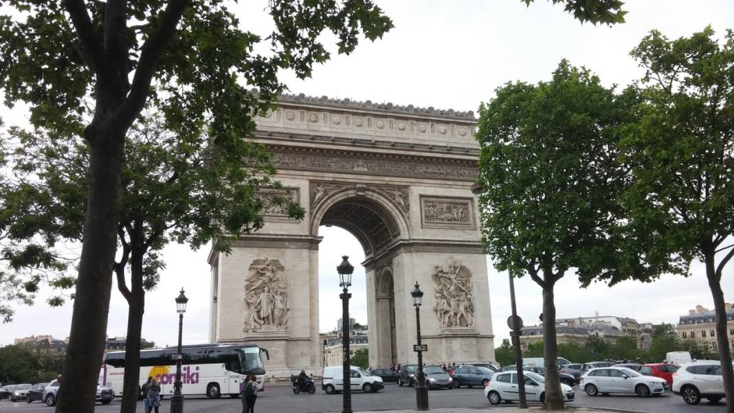 The Arc de Triomphe in Paris. (Photo credit: Melissa Bryant)