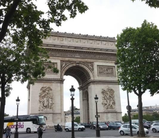 The Arc de Triomphe in Paris. (Photo credit: Melissa Bryant)