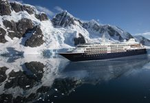 Silversea's Silver Cloud.