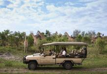 Belmondis offering a6-night itinerary in Botswana hosted byAlexander McCall Smith, author of the popularThe No. 1 Ladies' Detective Agencybook series. (Photo credit: Belmond)