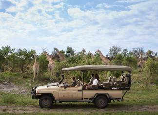 Belmond is offering a 6-night itinerary in Botswana hosted by Alexander McCall Smith, author of the popular The No. 1 Ladies' Detective Agency book series. (Photo credit: Belmond)