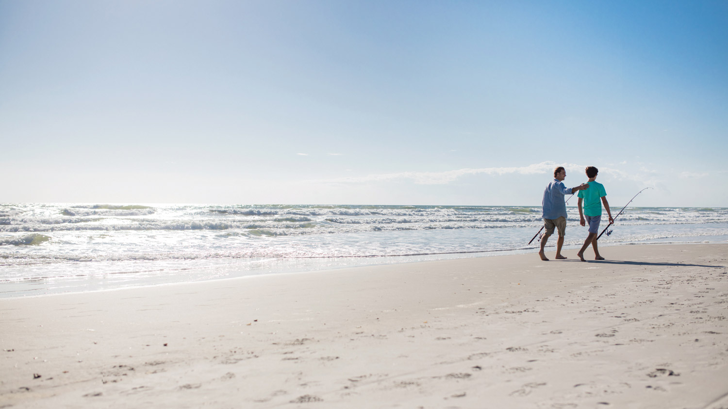 Survey says: Florida is popular for family vacations.