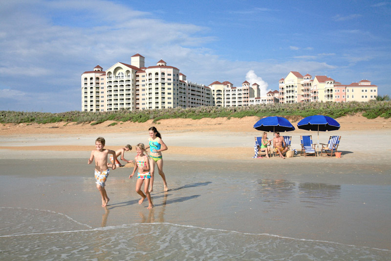 Hammock Beach Resort in Palm Coast, Florida is an ideal vacation spot for friends and families.