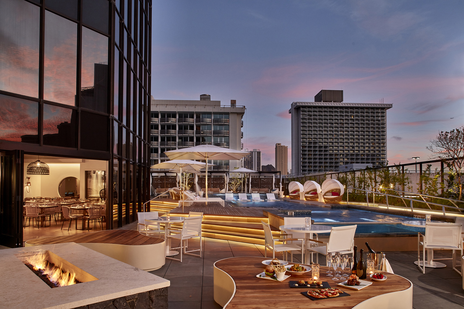 Hyatt Centric Waikiki Beach is the first Hyatt Centric-branded hotel to open in Hawaii.