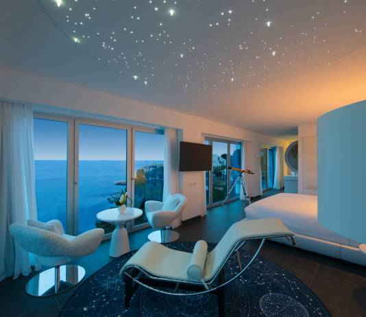 Iberostar Grand Hotel Portals Nousfeatures 66guestrooms, including special themed suites, such as thisStargazer Suite.
