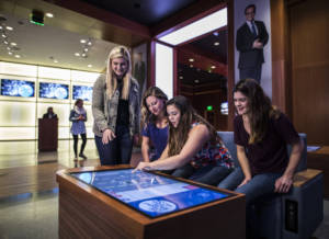 """When guests enter the attraction, they'll make their way through an interactive pre-show area, aptly named Studio 6B, where they can view """"Tonight Show"""" segments."""