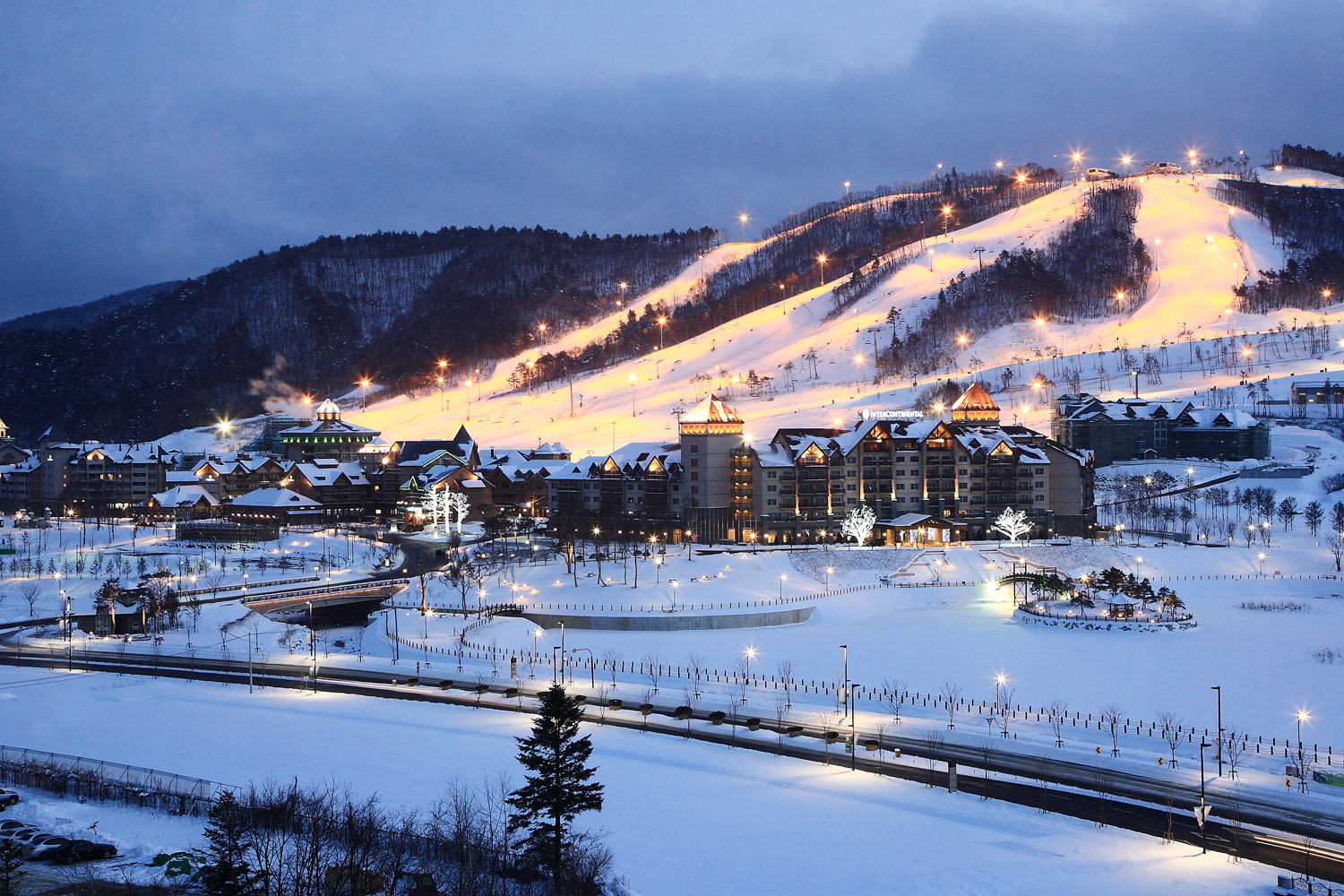 The athlete's village for the Pyeongchang Olympics is ... |South Korea Pyeongchang Olympic Village
