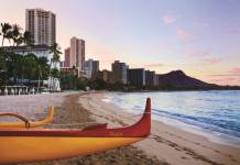 Pleasant Holidays is offerings special savings on all destinations, including Hawaii, where guests can receive either a complimentary car rental or car rental upgrade at the Moana Surfrider, A Westin Resort & Spa.