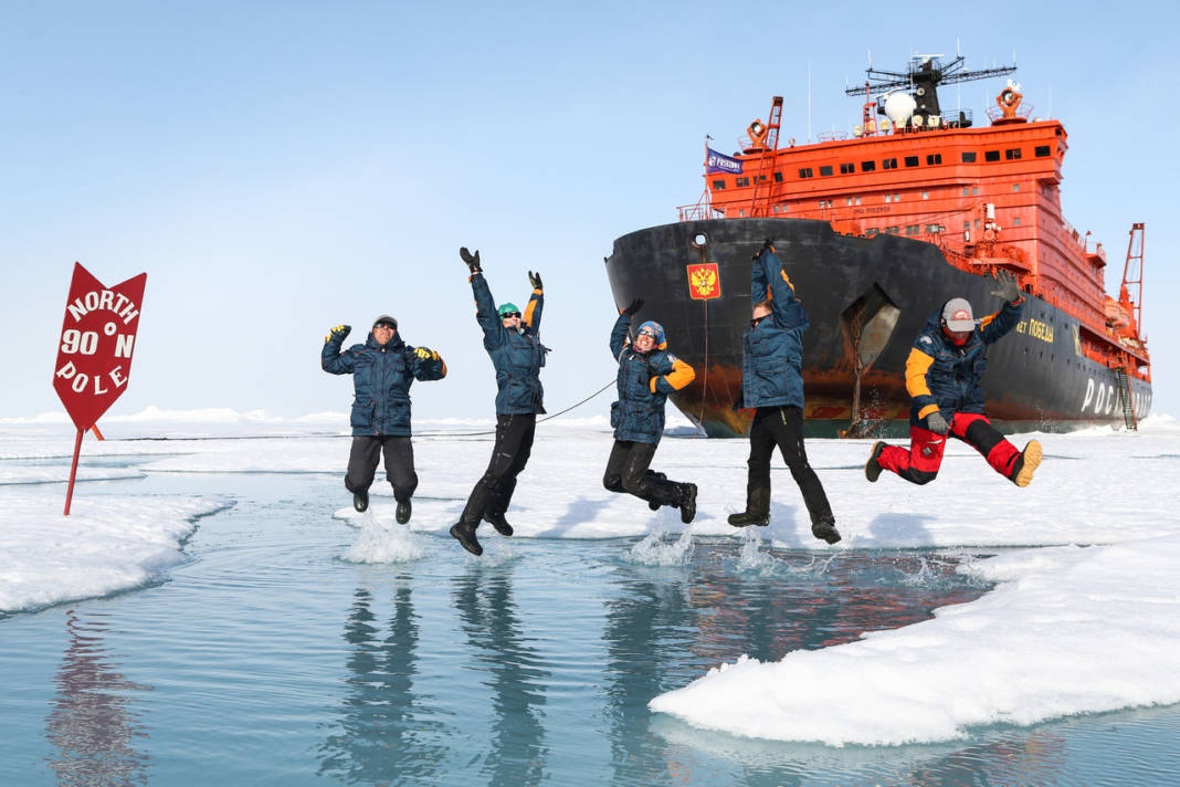 Guests of Poseidon Expeditions' 2018 North Pole-bound voyages can take advantage of early bird savings. (Photo credit: Lauren Farmer)