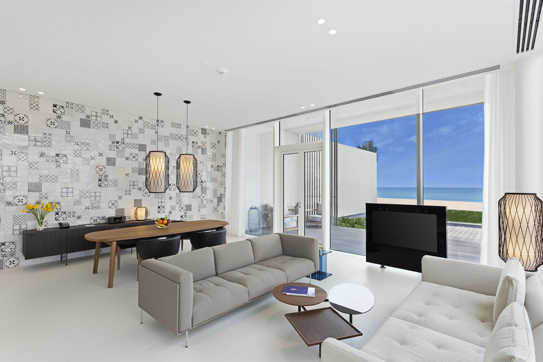 The Oberoi Beach Resort, Al Zorahfeaturesrooms and suites to 2- and 3-bedroom villas.