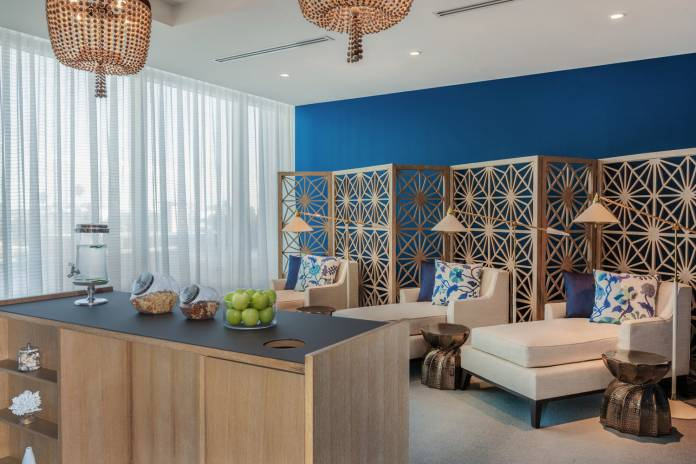 The Pallavi Luxury Spa at theWyndham Grand Clearwater Beach.