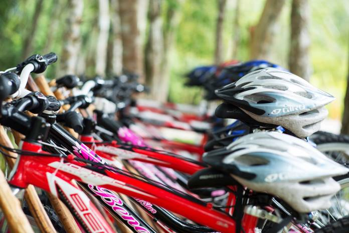 The Explorean Kohunlich offers heart pumping activities such as biking through the Mayan rainforest.