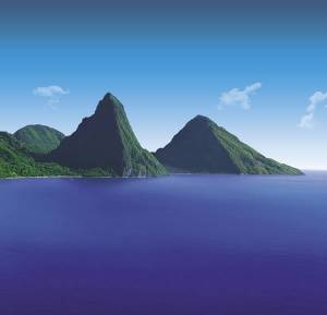 The Caribbean is one of the top trending regions of the world, according to the survey participants. (Photo credit: Saint Lucia Tourist Board)