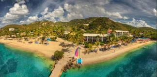 Bolongo Bay, U.S. Virgin Islands. (Photo credit: Bolongo Bay Beach Resort, St. Thomas)