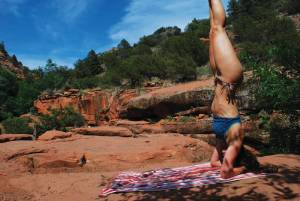 Wellness vacations, according to survey takers, are very popular. This photo was shot in Sedona, Arizona. (Photo credit: loosegravel photography/austin wylie)