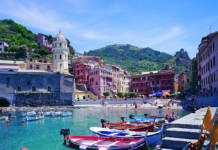 A small harbor in Vernazza, Italy—one of the five villages that make up the Cinque Terre. (Photo credit: Agenzia Regionale In Liguria/FototecaENIT)