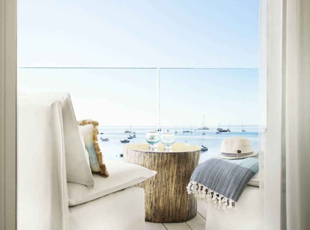 Nobu Hotel Ibiza Bay is Small Luxury Hotels of the World's first Ibizan outpost.