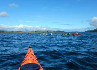 Wilderness Scotland offers aScottish Sea Kayak Trail South - The Whisky Coastitinerary that combines whisky tastings with a sea kayaking trip.