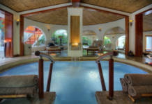 The spa at Tabacon Thermal Resort & Spa in Costa Rica.