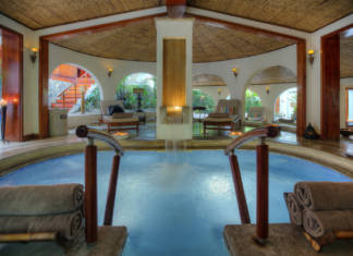 The spa atTabacon Thermal Resort & Spa in Costa Rica.