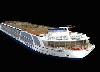 AmaWaterways has unveiled plans for its biggest ship ever, AmaMagna, which is expected to launch in 2019.