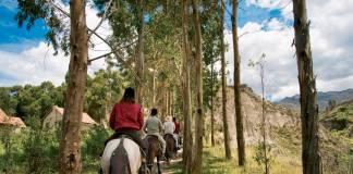 Belmond Las Casitas can arrange horseback riding excursions for guestsin Colca Canyon.
