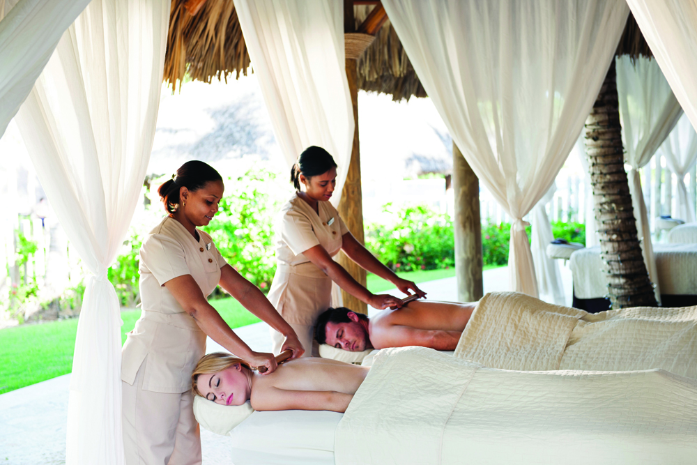 Guests can opt for a couples massage at Barcelo properties.