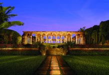 The medieval cloister at the One&Only Ocean Club Nassau-Paradise Island in The Bahamas. (Nickolas Sergeant)