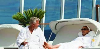 Spa time on board an Oceania cruise.