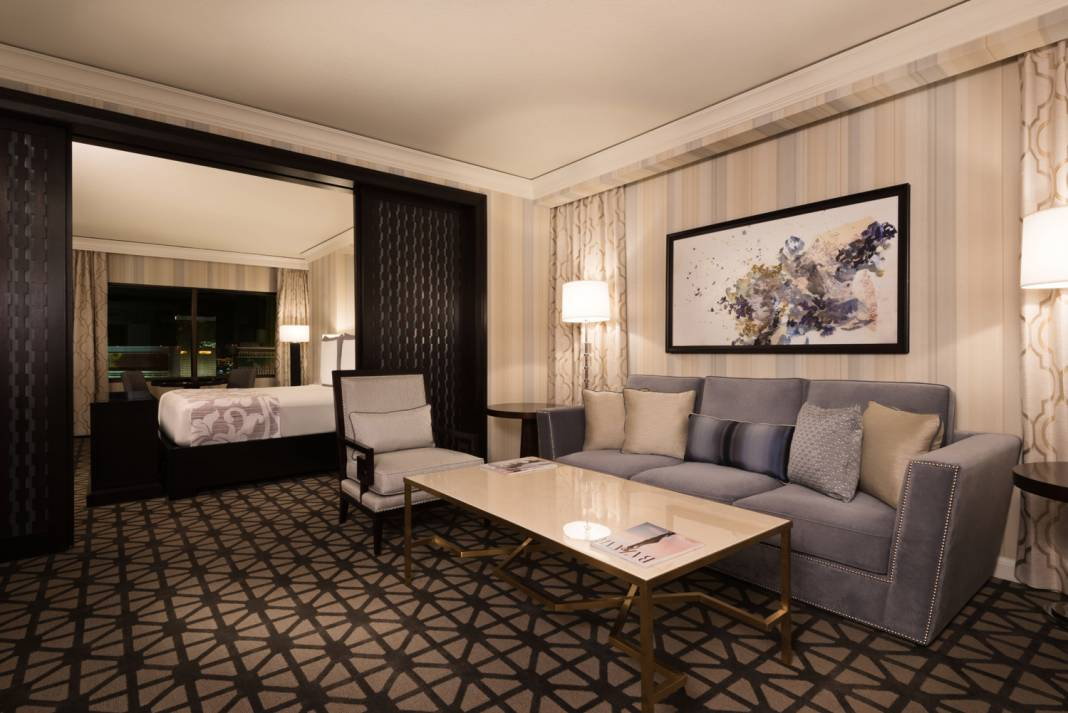 By the end of 2017, Caesars Entertainment Las Vegas will have renovated more than 800 suites, including the Augustus Spa Suites in the Augustus Tower at Caesars Palace.