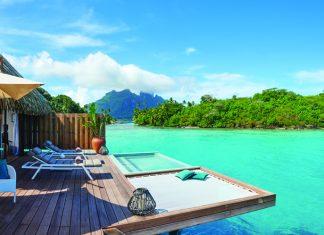 The newly opened Conrad Bora Bora Nui.
