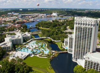 The Hilton Orlando Buena Vista Palace.