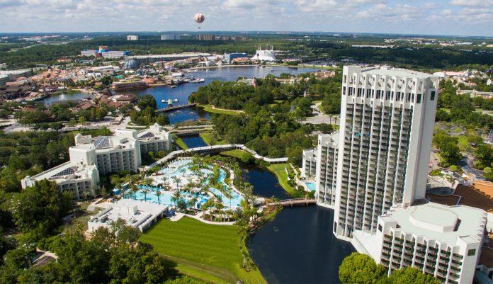 The Hilton Orlando Buena Vista Palace.