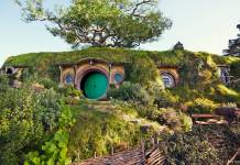 On the Hobbiton Movie Set tour, guests go on a fully guided Middle-earth adventure around the 12-acre set in the Waikato region on New Zealand's North Island. (Photo credit: Sara Orme)