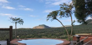 The family-run Leshiba Wilderness sits in a tucked-away valley overlooking the Soutpansberg mountains in the Limpopo Province.