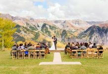 Telluride Ski Resort offers several wedding venues.