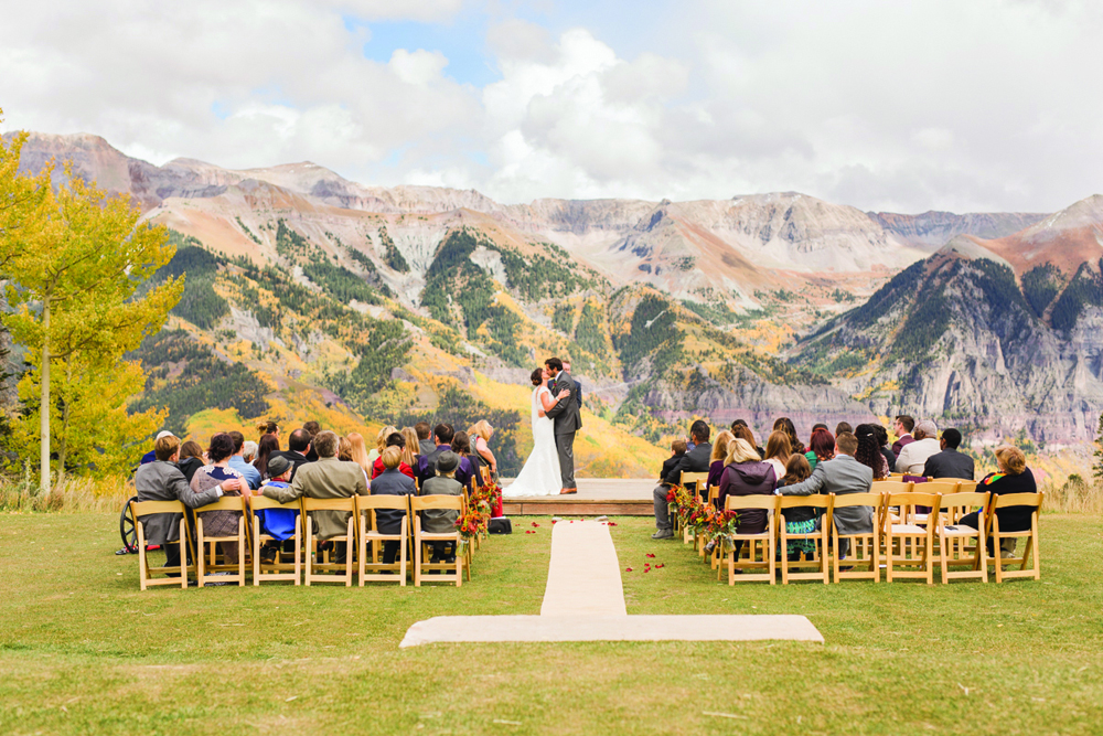Telluride Ski Resort offers several wedding venues.
