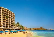 Travel agents can win a4-night stay for two at Outrigger Reef Waikiki Beach Resort during Apple Vacations'13th Annual Travel Agent Appreciation Month promotion. (Photo credit: Apple Vacations)