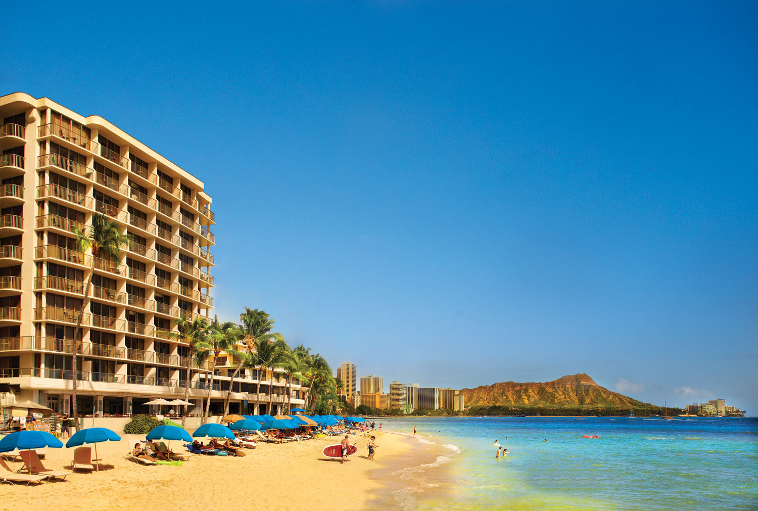 Travel agents can win a 4 night stay for two at outrigger reef waikiki beach
