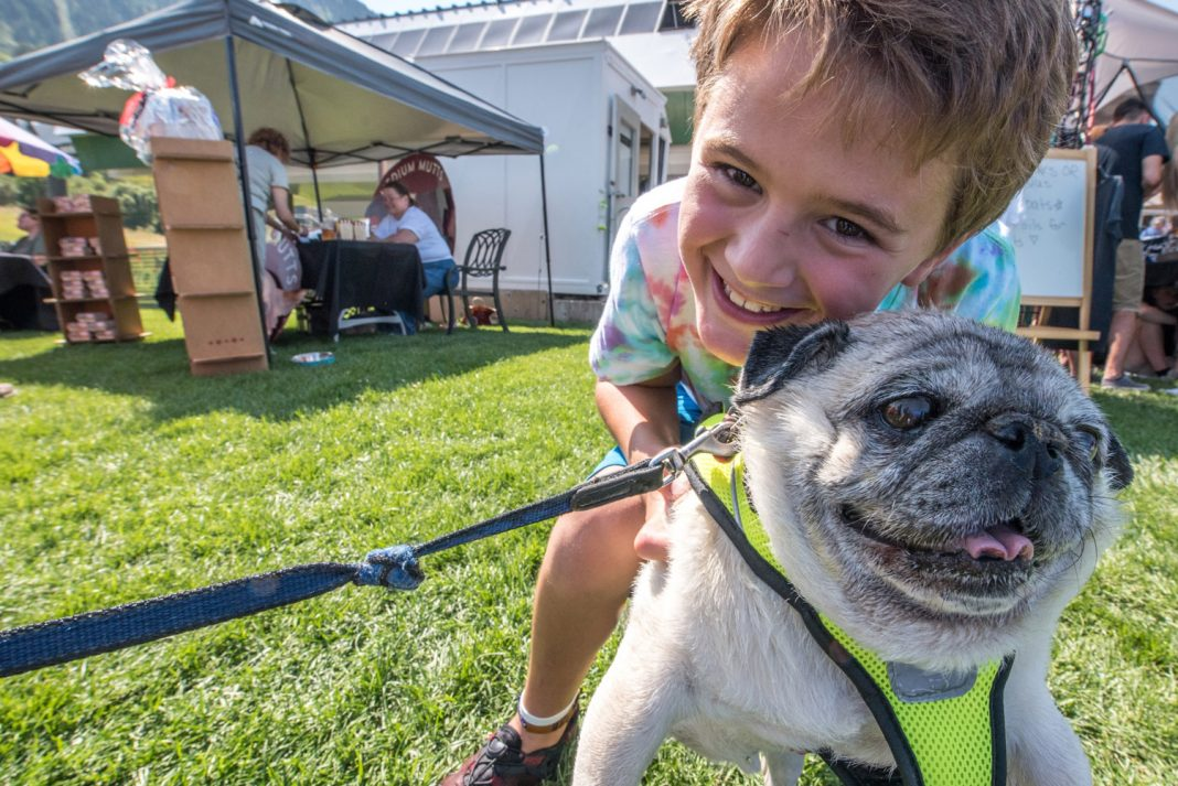 Snowbasin Resort'skid-friendly line-up of summer activities includes theBark at the Basin event on Sept. 10.