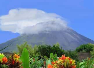 TheArenal Volcano in Costa Rica.